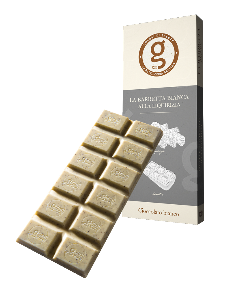 Cioccolato Bianco alla Liquirizia