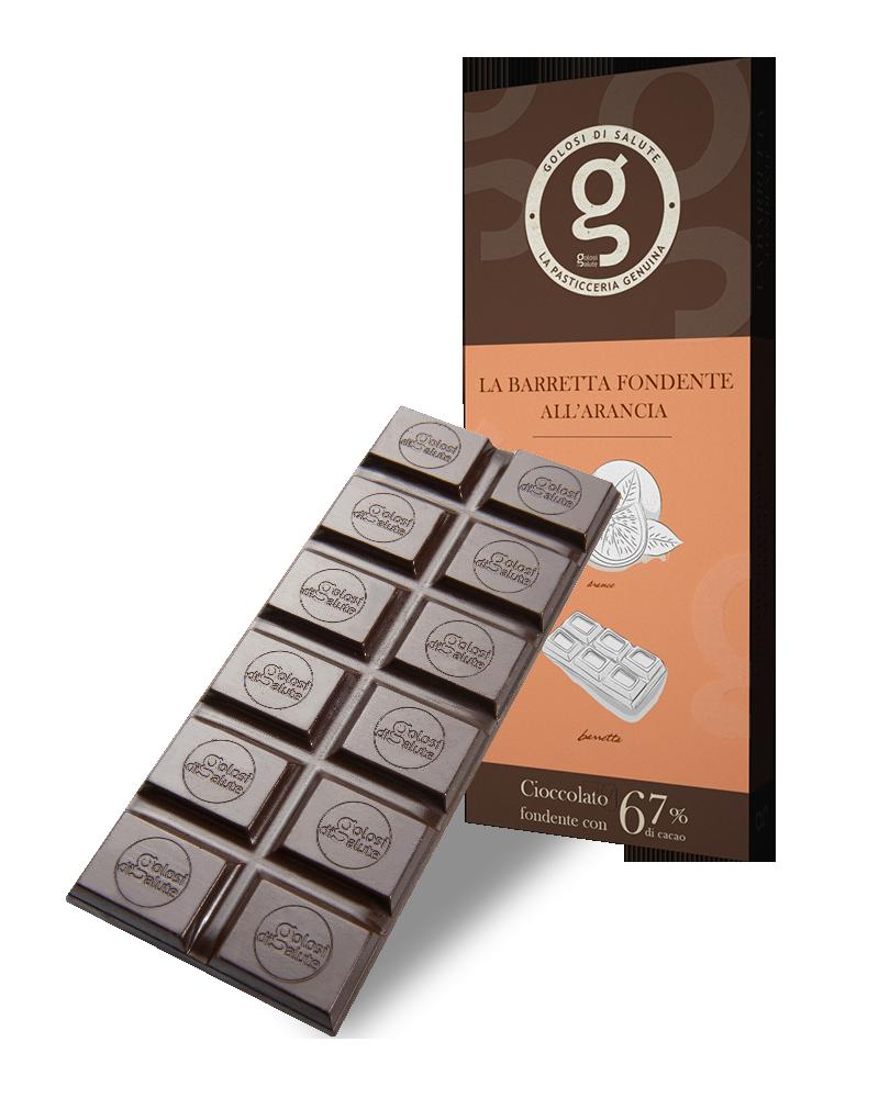 Cioccolato Fondente all'Arancia