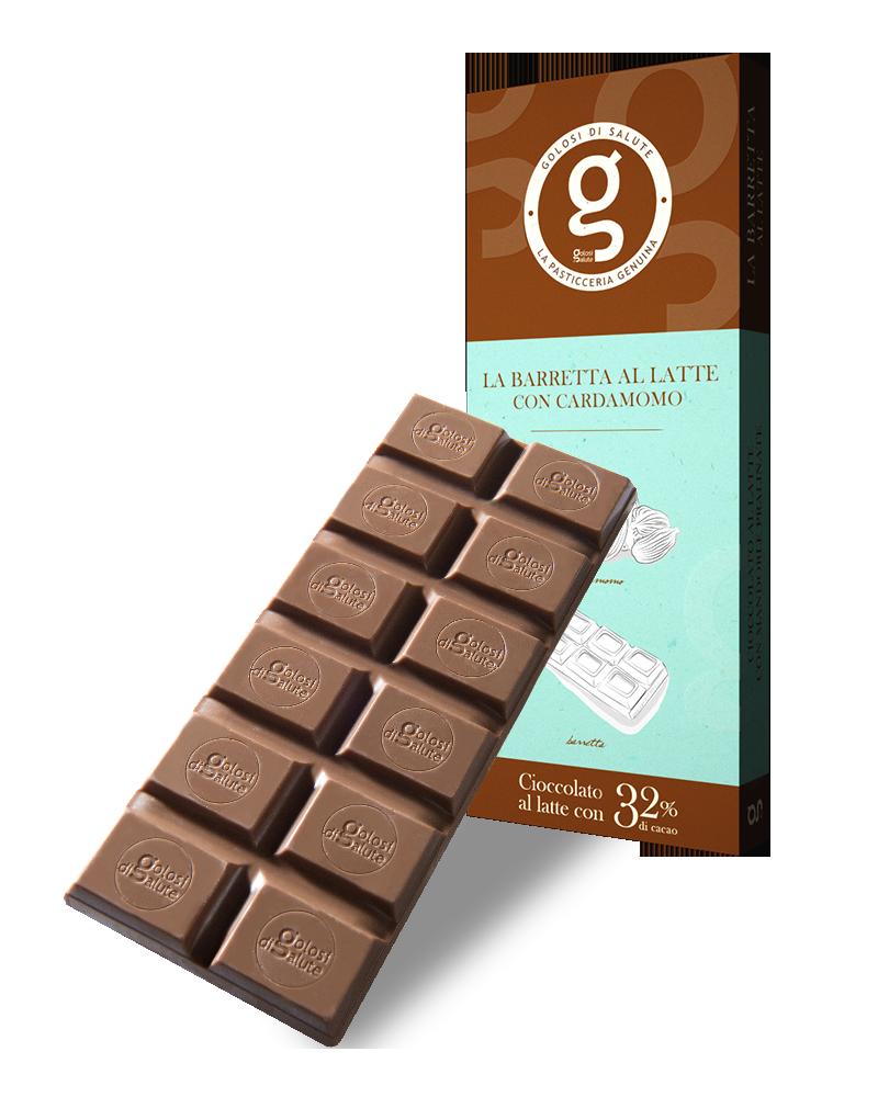 Cioccolato al Latte con Cardamomo