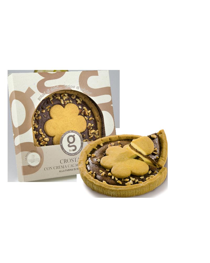 Crostata con crema Cacao & Nocciole